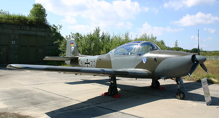 Fliegerhorst Rostock - Laage 2006 - Piaggio P-149 D