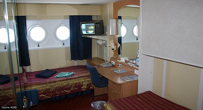 Bilder: Schiffsbesichtigung MS Albatros - Bild: 4 - Kabine: 4090