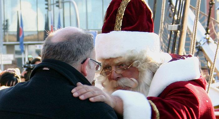 Weihnachtsmann Rostock
